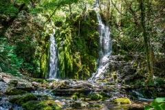 Aiglun - Cascade du Végay