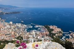 Monaco depuis le Tête de Chien