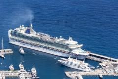 Paquebot dans le port de Monaco