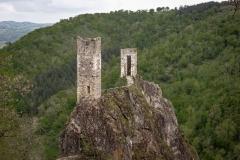 Roc del Talhuc et Castel Redon