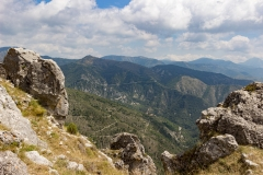 Panorama depuis Rocca Spavièra
