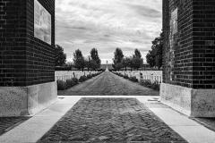 Cimetière militaire dans la Somme