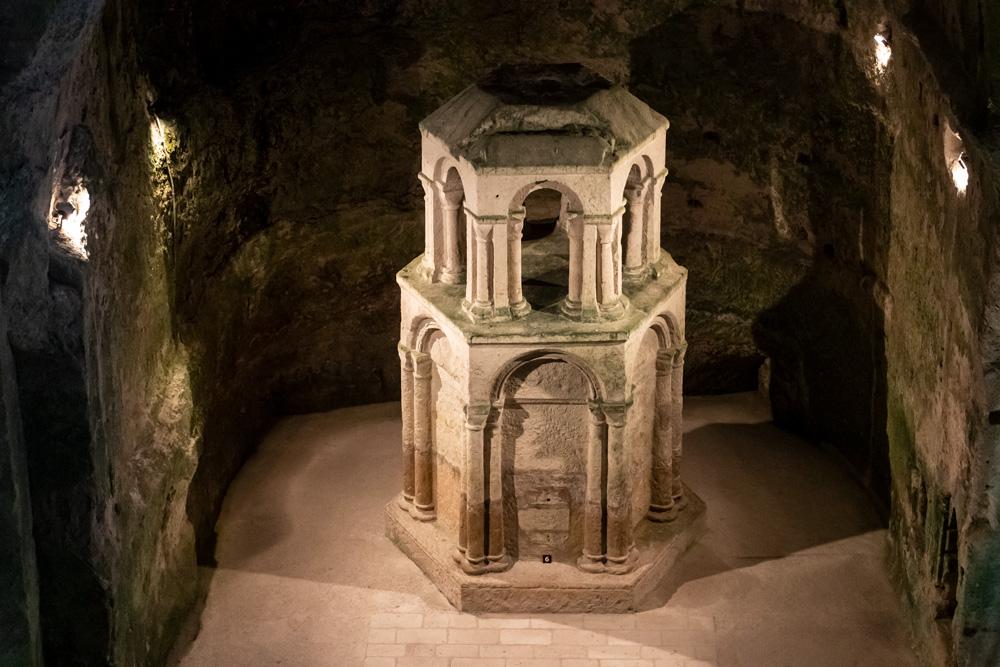 Eglise monolithe - Aubeterre/Dronne - Reliquaire