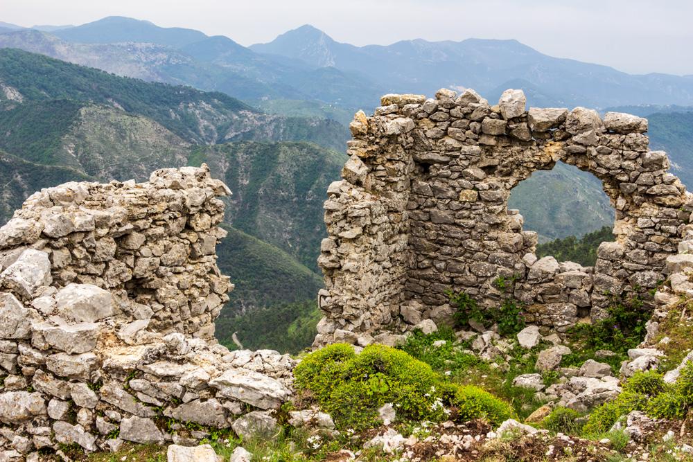 Rocca Spavièra - Ruines